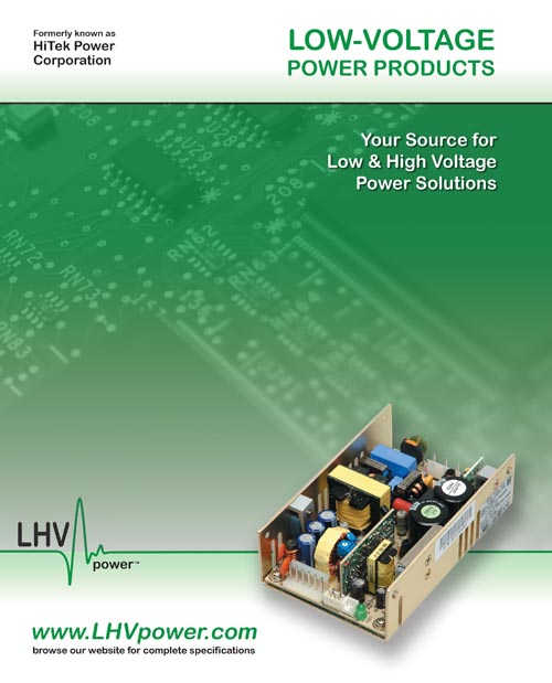 8 Page OEM power Supplies Catalog Design